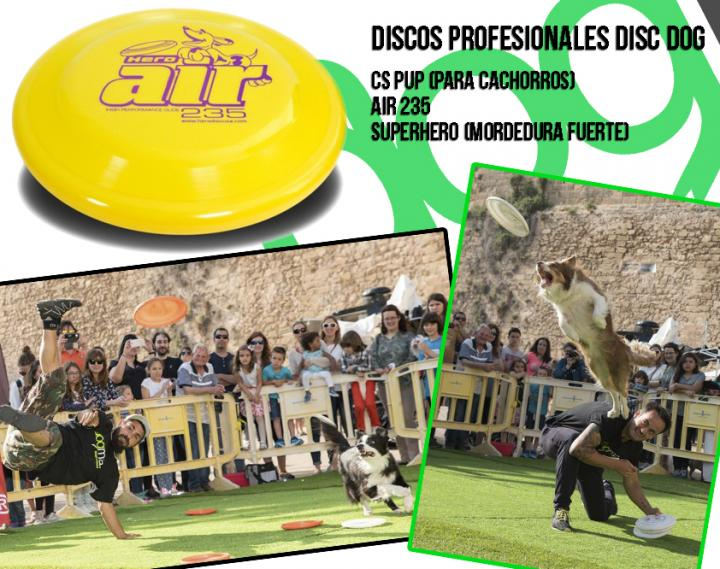 Discdog discos Air235 y SuperHero