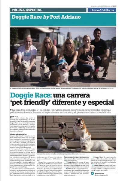 Doggie Race by Port Adriano en los medios
